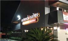 Extend-a-Suites Mobile - Exterior Night View
