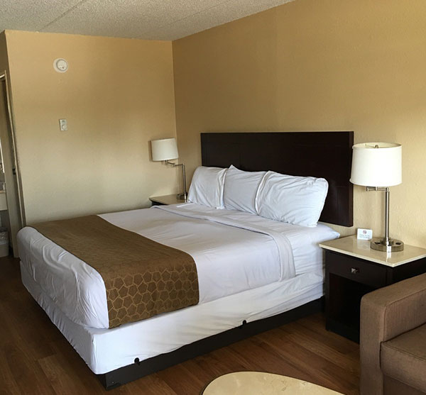 Extend-a-Suites - Tilmans Corner offering Queen with Sofa Bed